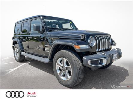 2018 Jeep Wrangler Unlimited Sahara (Stk: 9965A) in Windsor - Image 1 of 26