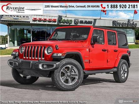2021 Jeep Wrangler Unlimited Sahara (Stk: N21093) in Cornwall - Image 1 of 23