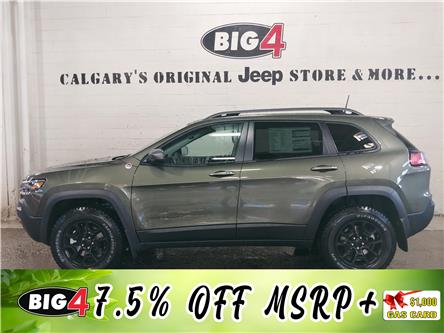 2021 Jeep Cherokee Trailhawk (Stk: 21J100) in Calgary - Image 1 of 15