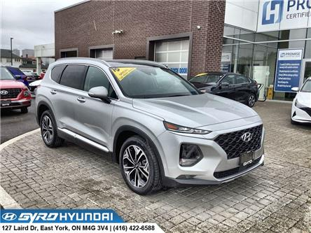2019 Hyundai Santa Fe Ultimate 2.0 (Stk: H6616A) in Toronto - Image 1 of 30