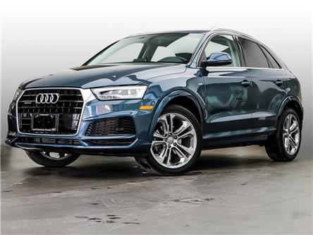 2018 Audi Q3 2.0T Technik (Stk: P4383) in Toronto - Image 1 of 29