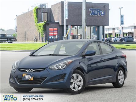 2016 Hyundai Elantra L+ (Stk: 791125) in Milton - Image 1 of 18