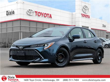 2019 Toyota Corolla Hatchback Base (Stk: D210606A) in Mississauga - Image 1 of 25