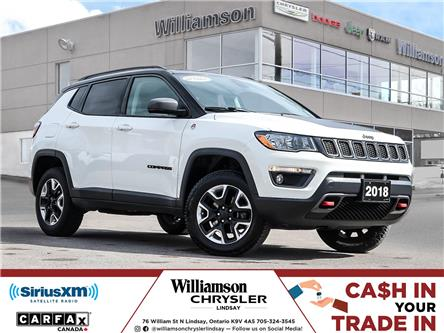 2018 Jeep Compass Trailhawk (Stk: U1183D) in Lindsay - Image 1 of 26