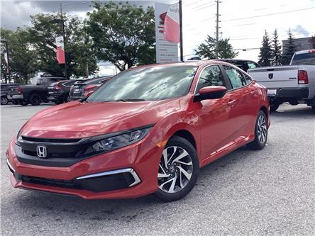 2021 Honda Civic EX (Stk: 11-21091) in Barrie - Image 1 of 25
