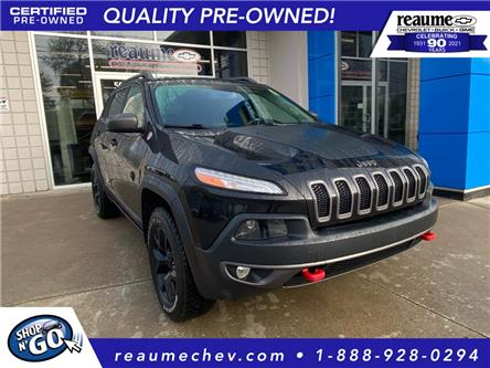 2015 Jeep Cherokee Trailhawk (Stk: P-4589) in LaSalle - Image 1 of 26
