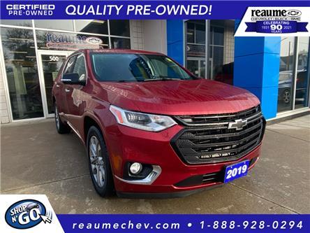 2019 Chevrolet Traverse Premier (Stk: L-4587) in LaSalle - Image 1 of 29