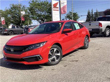 2021 Honda Civic LX (Stk: 11-21551) in Barrie - Image 1 of 20