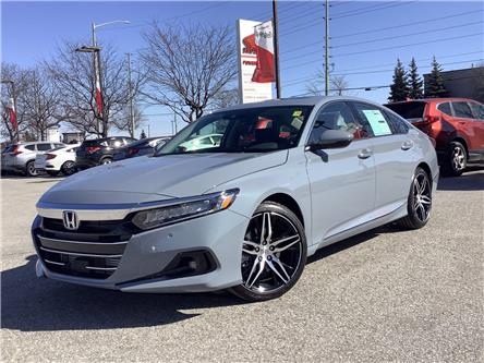 2021 Honda Accord Touring 1.5T (Stk: 11-21442) in Barrie - Image 1 of 30