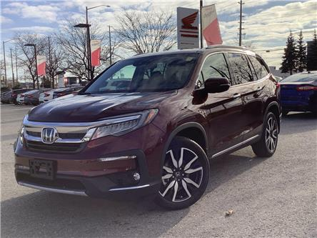 2021 Honda Pilot Touring 7P (Stk: 11-21568) in Barrie - Image 1 of 25