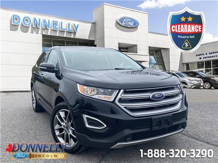 2016 Ford Edge Titanium (Stk: CLDR1918A) in Ottawa - Image 1 of 27