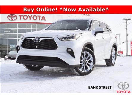 2021 Toyota Highlander Hybrid Limited (Stk: 19-28917) in Ottawa - Image 1 of 25