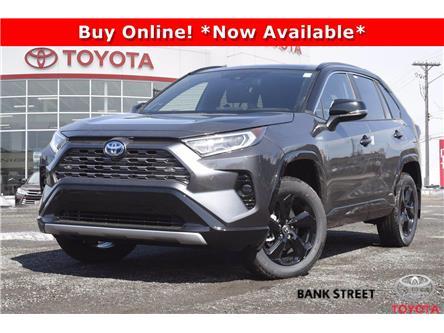 2021 Toyota RAV4 Hybrid XLE (Stk: 19-29034) in Ottawa - Image 1 of 24