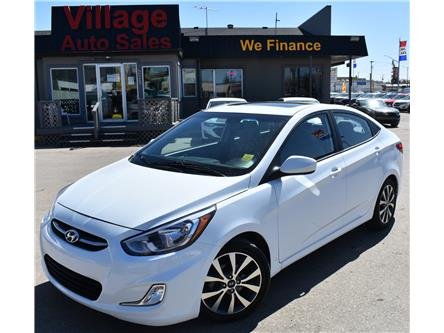 2017 Hyundai Accent SE (Stk: P38310C) in Saskatoon - Image 1 of 17