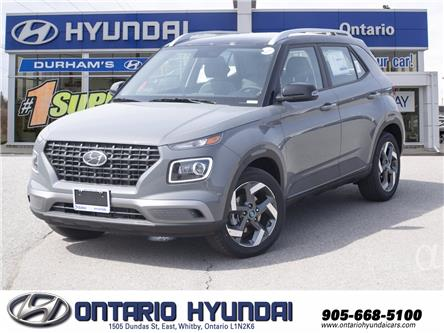 2021 Hyundai Venue Ultimate w/Black Interior (IVT) (Stk: 13-101946) in Whitby - Image 1 of 19
