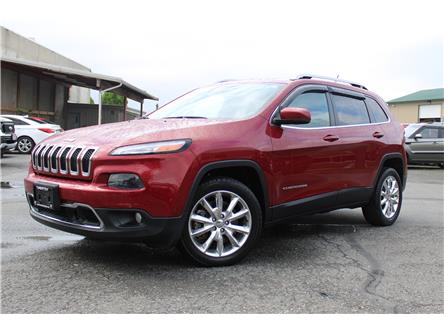 2014 Jeep Cherokee Limited (Stk: K21-0034P) in Chilliwack - Image 1 of 15