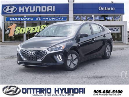 2021 Hyundai Ioniq Hybrid Preferred (Stk: 13-251275) in Whitby - Image 1 of 20