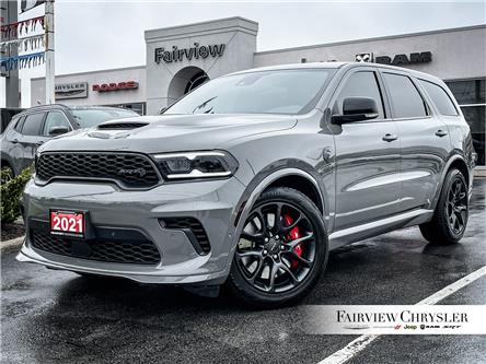 2021 Dodge Durango SRT Hellcat (Stk: ) in Burlington - Image 1 of 27