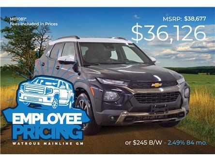 2021 Chevrolet TrailBlazer ACTIV (Stk: M01081) in Watrous - Image 1 of 47