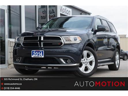 2014 Dodge Durango SXT (Stk: 21781) in Chatham - Image 1 of 23