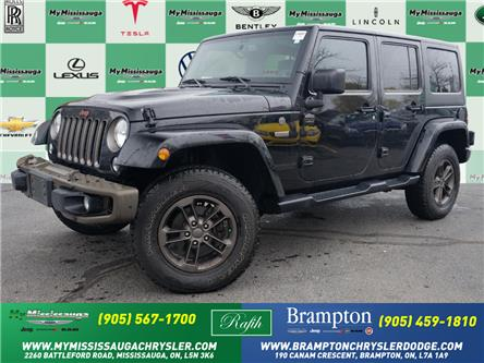 2017 Jeep Wrangler Unlimited Sahara (Stk: 1466) in Mississauga - Image 1 of 26