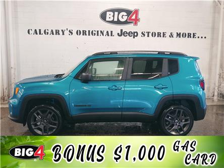 2021 Jeep Renegade North (Stk: 21J270) in Calgary - Image 1 of 11