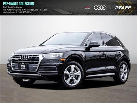 2018 Audi Q5 2.0T Progressiv (Stk: C8298) in Vaughan - Image 1 of 21
