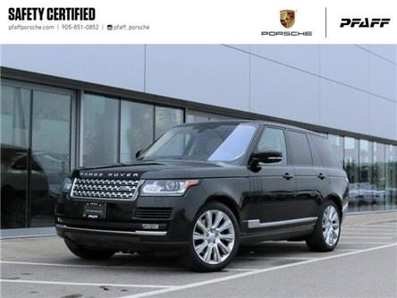 2016 Land Rover Range Rover V8 Supercharged SWB (Stk: P16665A) in Vaughan - Image 1 of 29