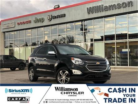 2017 Chevrolet Equinox Premier (Stk: W6672) in Uxbridge - Image 1 of 3