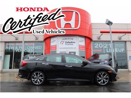 2020 Honda Civic Touring (Stk: U9993) in Sudbury - Image 1 of 35