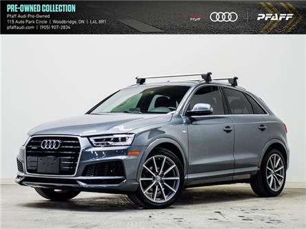 2018 Audi Q3 2.0T Technik (Stk: T19625A) in Woodbridge - Image 1 of 24