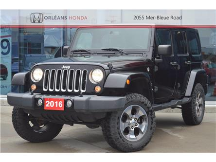 2016 Jeep Wrangler Unlimited Sahara (Stk: 16-P1412A) in Orléans - Image 1 of 28