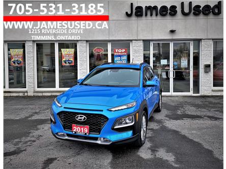 2019 Hyundai Kona 2.0L Luxury (Stk: N21219A) in Timmins - Image 1 of 14