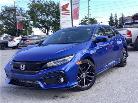 2021 Honda Civic Sport (Stk: 11-21647) in Barrie - Image 1 of 22