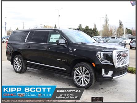 2021 GMC Yukon XL Denali (Stk: 23434) in Red Deer - Image 1 of 37