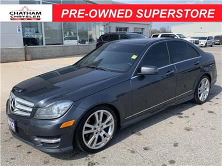 2013 Mercedes-Benz C-Class Base (Stk: U04777) in Chatham - Image 1 of 26