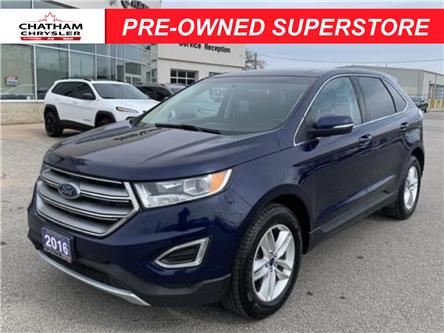2016 Ford Edge SEL (Stk: U04752) in Chatham - Image 1 of 29