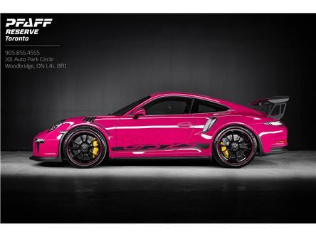 2016 Porsche 911 GT3 RS (Stk: ) in Woodbridge - Image 1 of 18