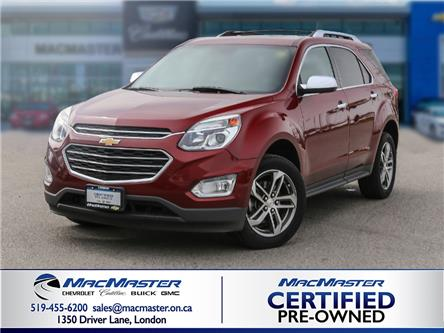 2017 Chevrolet Equinox Premier (Stk: 210396A) in London - Image 1 of 10