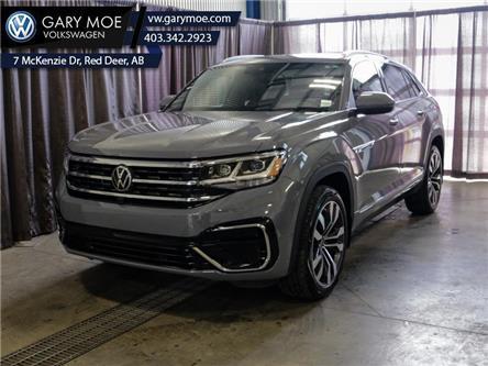 2021 Volkswagen Atlas Cross Sport Execline 2.0 TSI (Stk: 1CS3442) in Red Deer County - Image 1 of 25