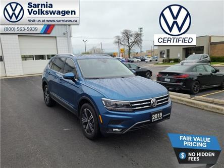 2019 Volkswagen Tiguan Highline (Stk: VU1130) in Sarnia - Image 1 of 23