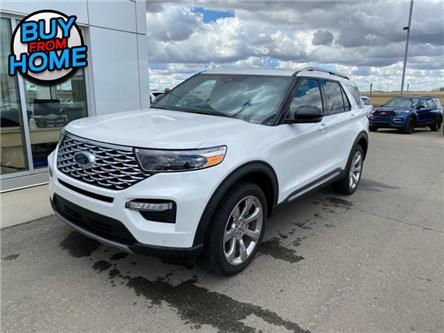 2020 Ford Explorer Platinum (Stk: AT1359) in Nisku - Image 1 of 22