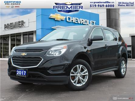 2017 Chevrolet Equinox LS (Stk: 210391A) in Windsor - Image 1 of 29