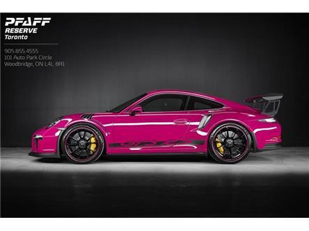 2016 Porsche 911 GT3 RS (Stk: SS001) in Woodbridge - Image 1 of 18