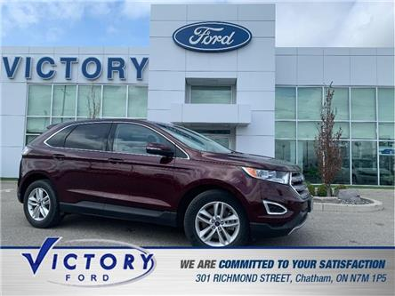 2017 Ford Edge SEL (Stk: V20113A) in Chatham - Image 1 of 30