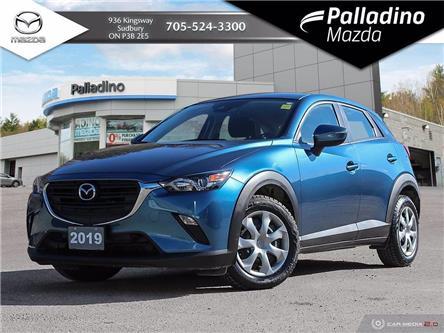 2019 Mazda CX-3 GX (Stk: 8013A) in Sudbury - Image 1 of 27