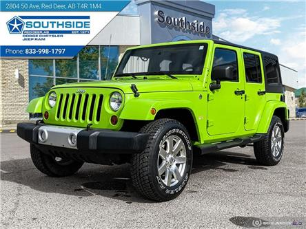 2012 Jeep Wrangler Unlimited Sahara (Stk: 14667A) in Red Deer - Image 1 of 25