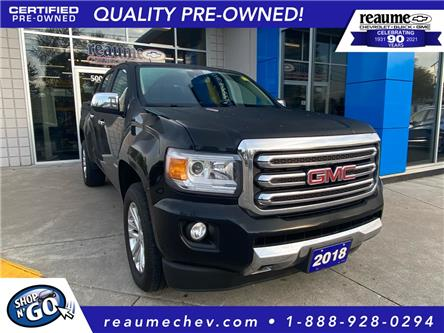 2018 GMC Canyon  (Stk: P-4554) in LaSalle - Image 1 of 21