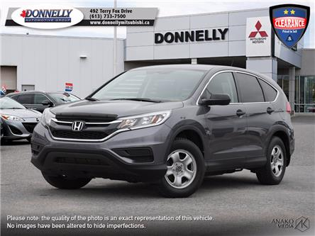 2016 Honda CR-V LX (Stk: MU1100) in Kanata - Image 1 of 25