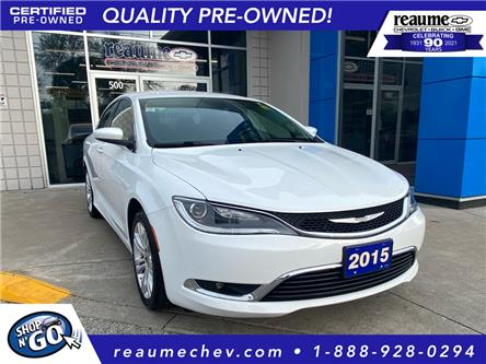 2015 Chrysler 200 Limited (Stk: L-4563A) in LaSalle - Image 1 of 24
